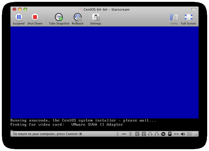 Starting The Anaconda Installer and X