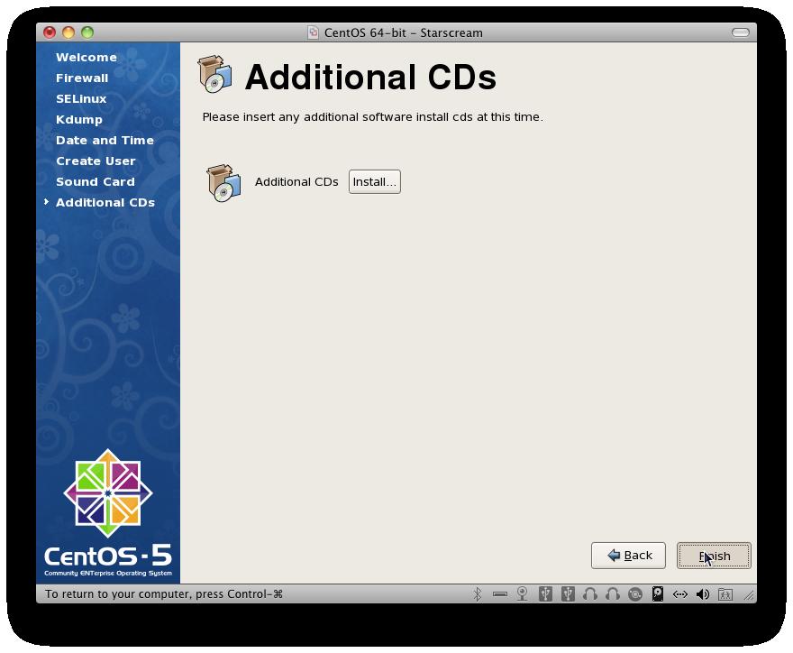 Additional Installation CDs